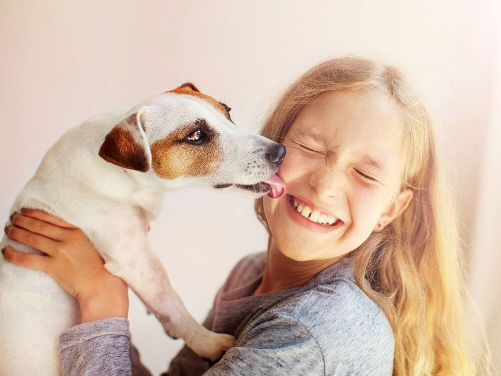 Having Dogs as Pets for Children